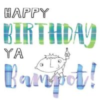 Pink Pig - Card - Happy Birthday Bampot